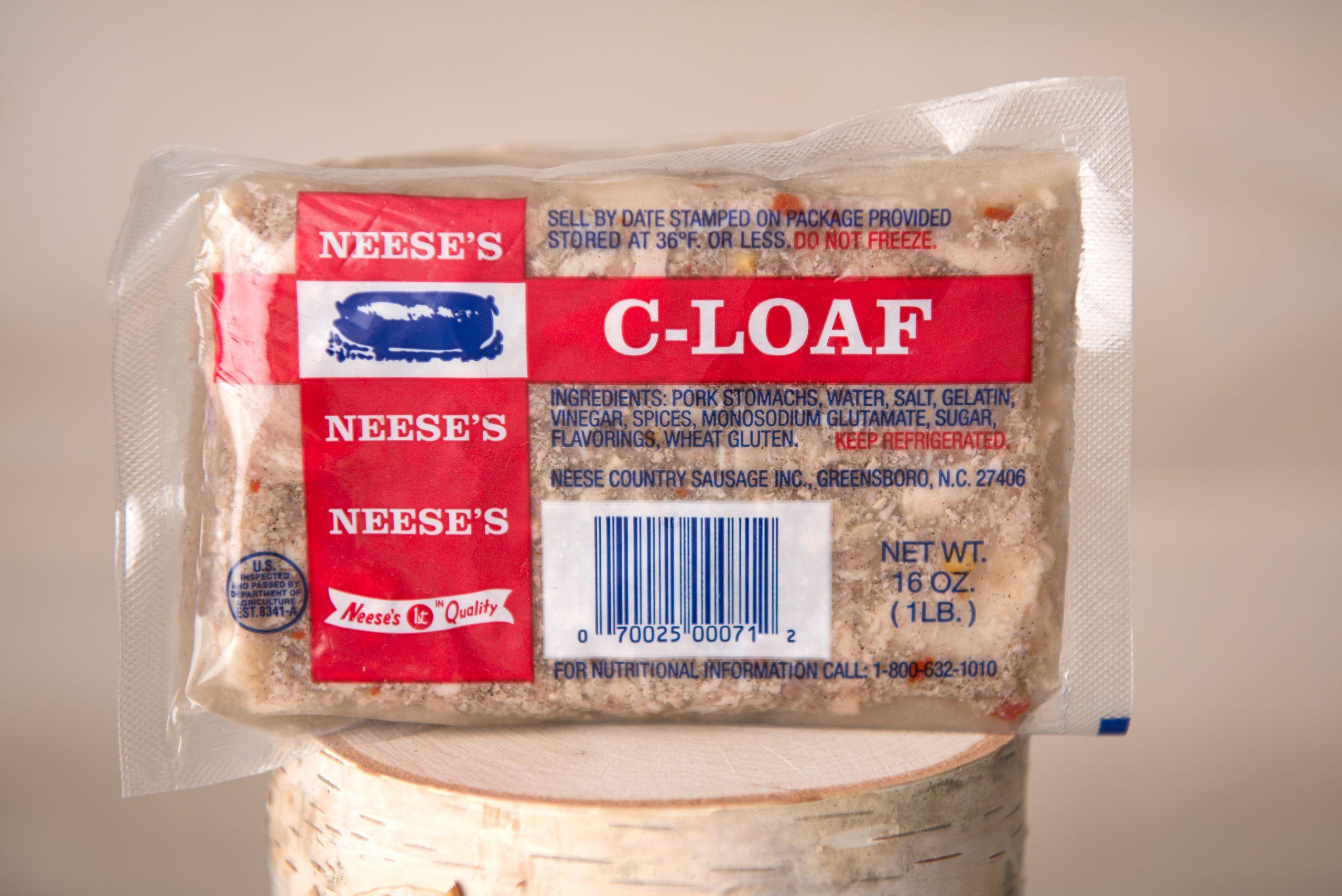 C-Loaf – Neese Sausage